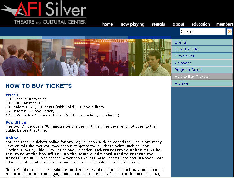AFI_TheaterBuyTicketspage