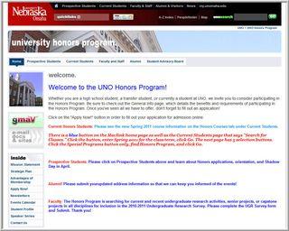UNOHonorsProgram