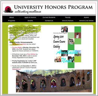 UNMHonorsProgram